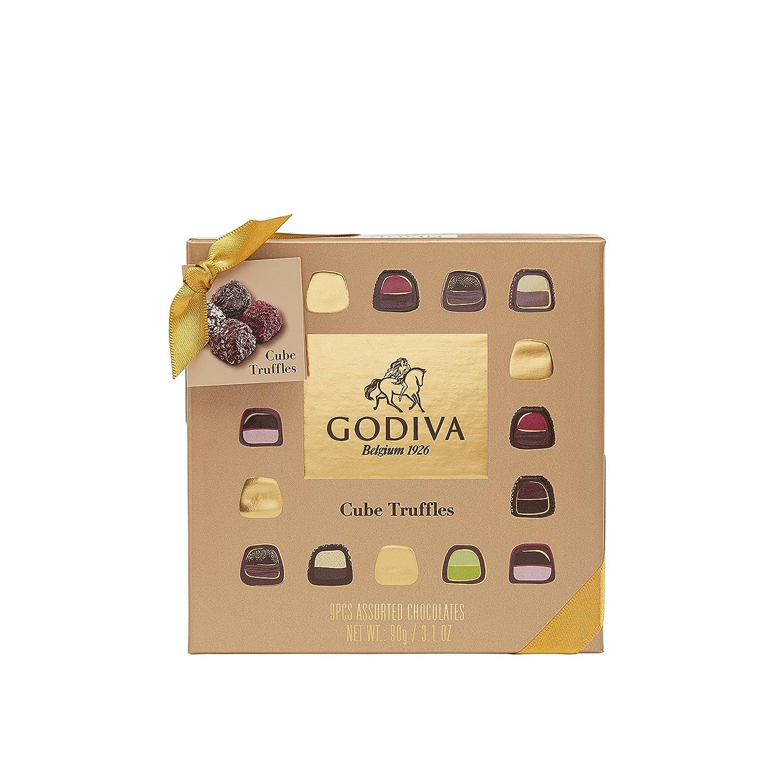 Godiva, Cube Truffles bombones trufas surtidas caja regalo 9 piezas, 90g: Amazon.es: Alimentación y bebidas