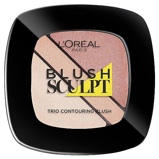 7 opinioni per L'Oréal Paris Infaillible Sculpt Trio Contouring Blush, 102 Soft Sand