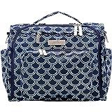 JuJuBe B.F.F Multi-Functional Convertible Diaper Backpack/Messenger Bag, Coastal Collection - Newport