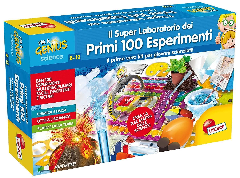 Bien-aimé Lisciani Giochi 56293 - I'm a Genius I Miei Primi 100 Esperimenti  MT93
