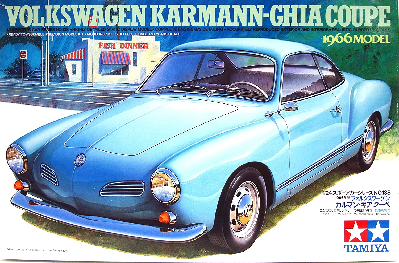 Vw Volkswagen Karmann Ghia Coupe 1966 89652 Bausatz Kit 1 24
