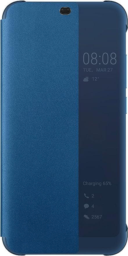 online retailer c19eb d6a9e Amazon.com: Honor Official Huawei 10 Smart View Flip Case - Blue ...