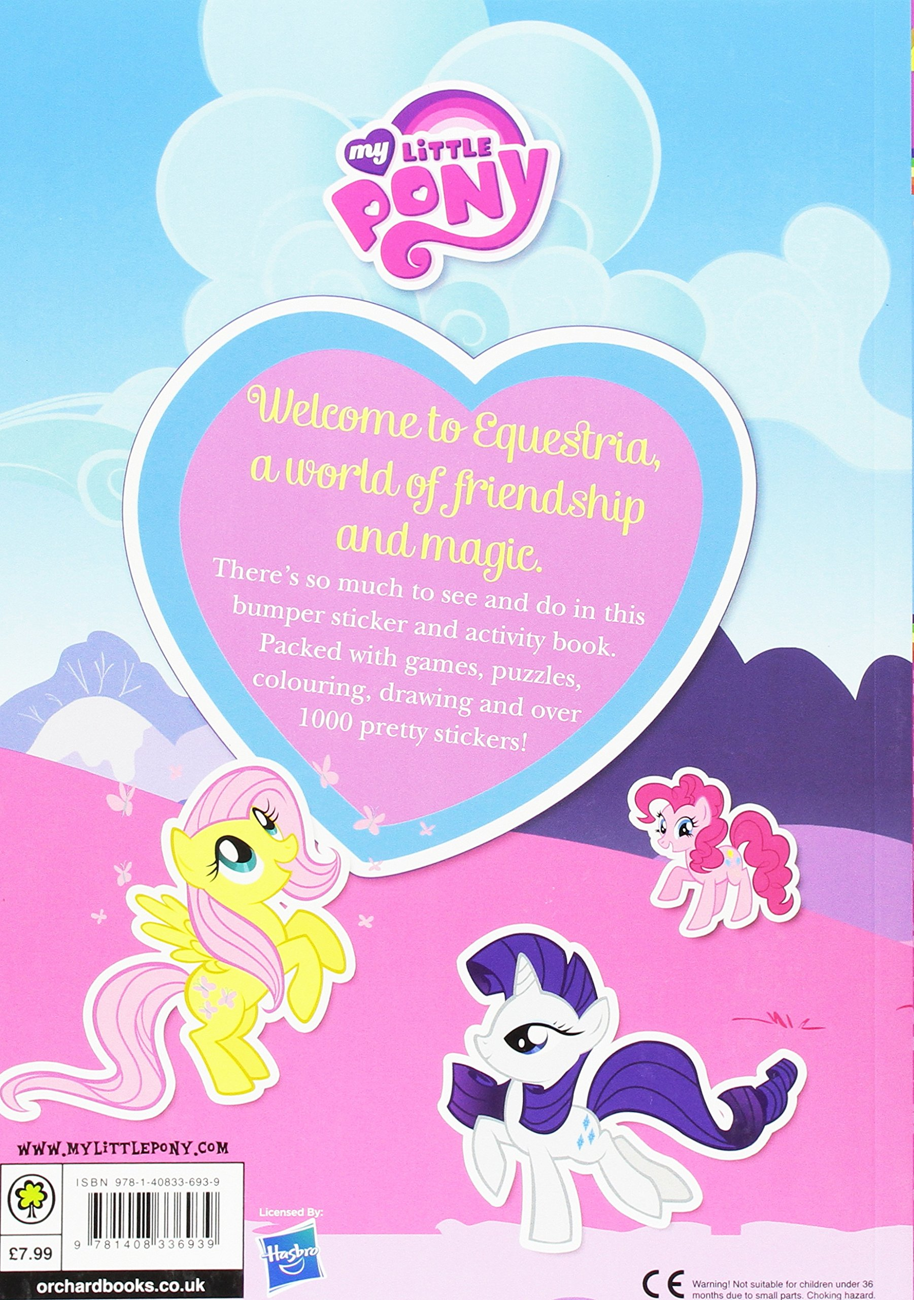 My little pony colouring book uk - Bumper Sticker Book My Little Pony Amazon Co Uk My Little Pony 9781408336939 Books