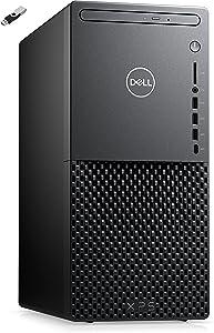 2021 DELL XPS 8940 Desktop 10th Intel i7-10700 8-Core CPU Nvidia GTX 1660 Ti 6GB Graphics - 16GB DDR4-512GB m.2 NVMe SSD + 1TB HDD DVD-RW WiFi 6 RJ45 Win10 Professional w/Ontrend 32GB USB Drive