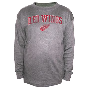 new style 80223 5696c Buy NHL Detroit Red Wings Men's B&T Team Thermal Long Sleeve ...