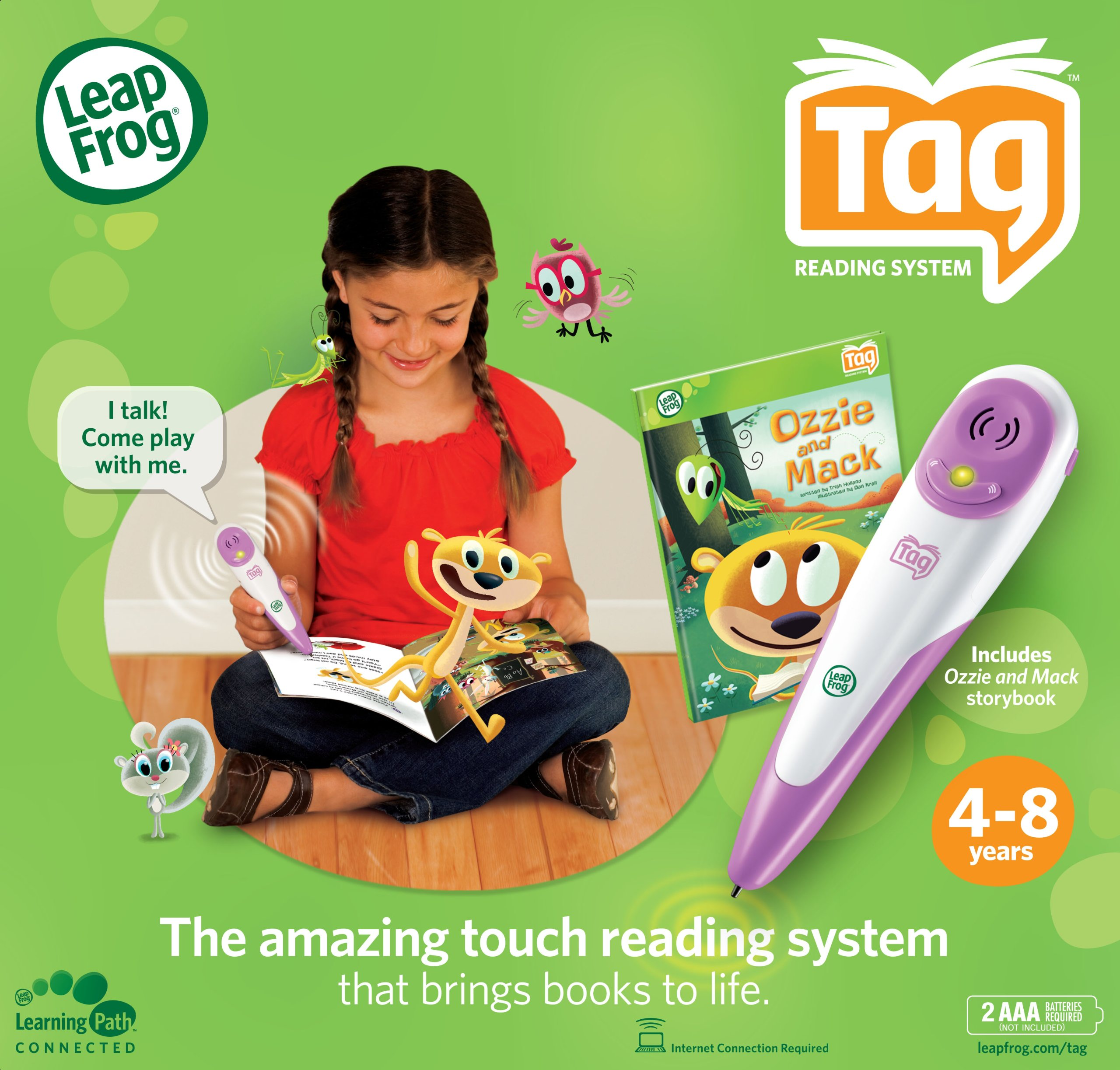 LeapFrog Tag Reading System - Pink by LeapFrog (Image #6)