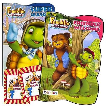 Amazon.com: Franklin la tortuga bebé Junta de juego (juego ...