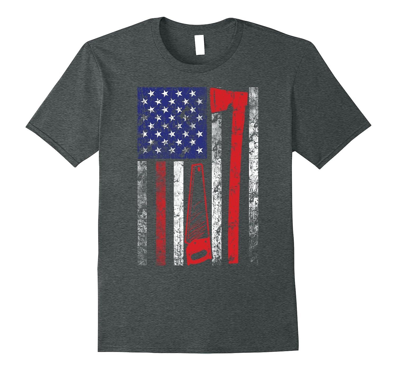 Logger Shirt Funny American Medium-Teesml