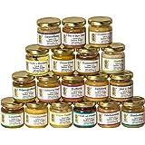 18x 50g Honig Probierset – zum Kennenlernen, Kombination variiert (von Imkerei Nordheide)