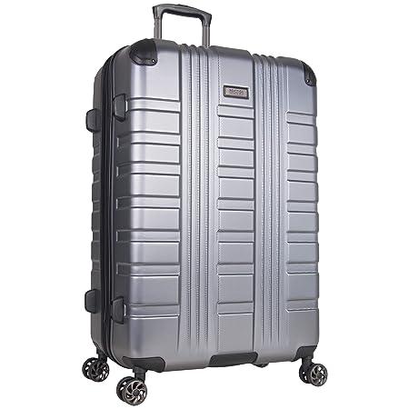 Kenneth Cole Reaction Scott s Corner 28 Hardside Expandable Spinner 8-Wheel Luggage with TSA Locks, Charcoal