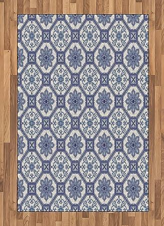 Arabian Bereich Teppich Von Lunarable Arabesque Blumenmuster Orient
