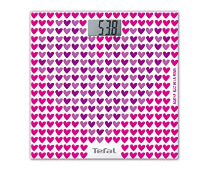 Tefal PP1124 Báscula personal electrónica Rosa - Báscula de baño (Báscula personal electrónica, 160