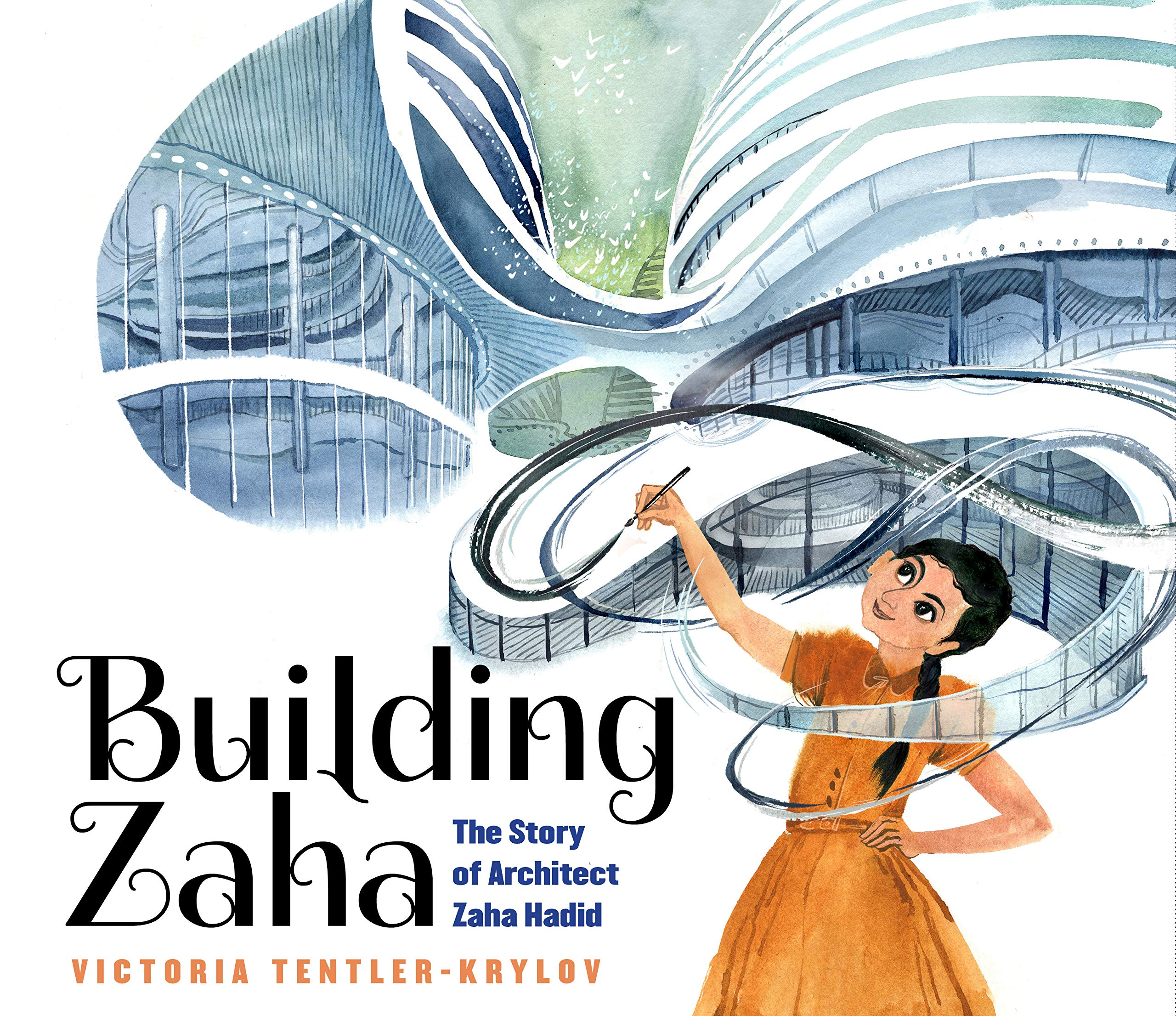 Building Zaha: The Story of Architect Zaha Hadid: Tentler-Krylov, Victoria,  Tentler-Krylov, Victoria: 9781338282832: Amazon.com: Books
