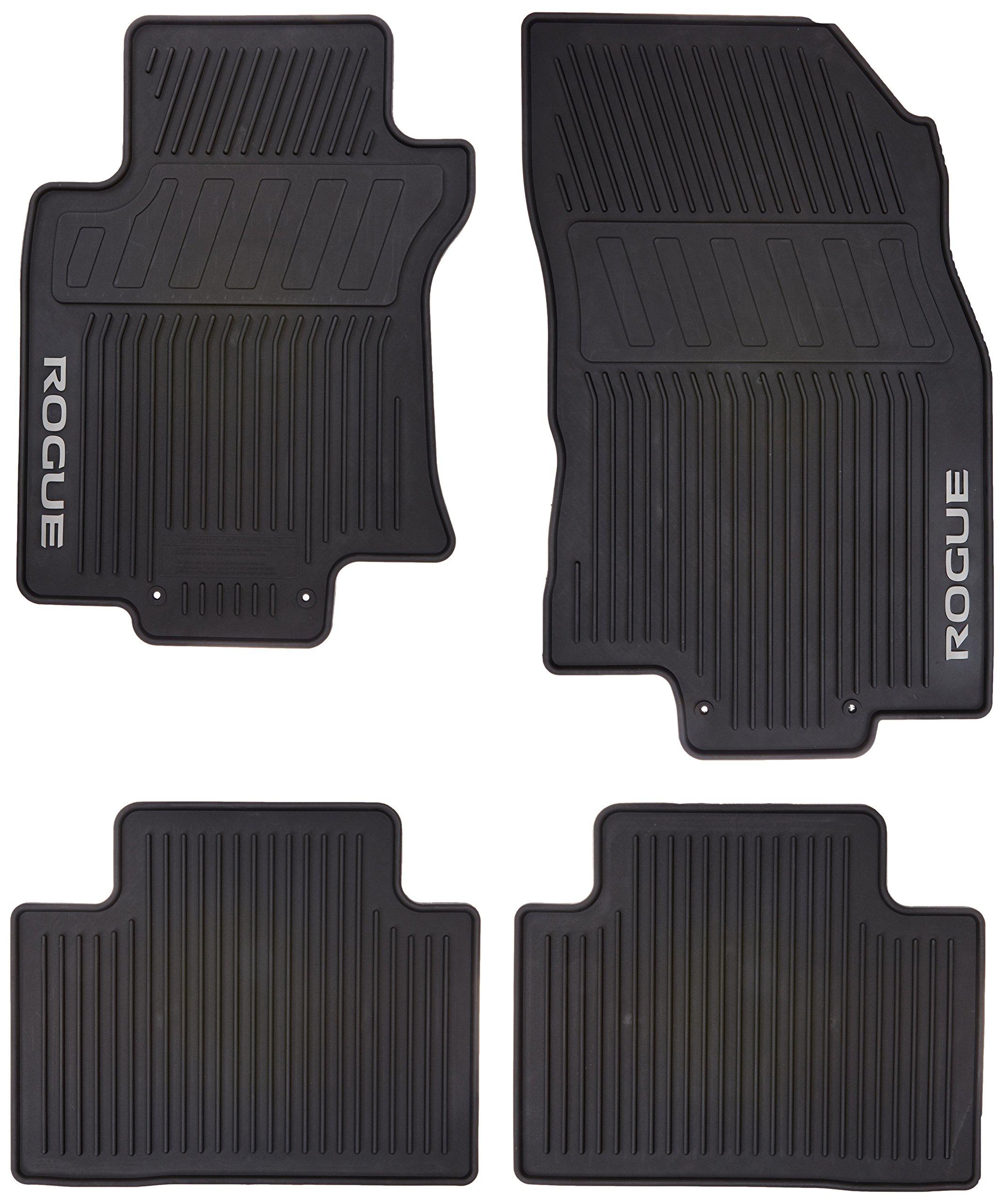 Amazoncom Nissan Genuine 999e1 G2000 Floor Mat Rubber Automotive