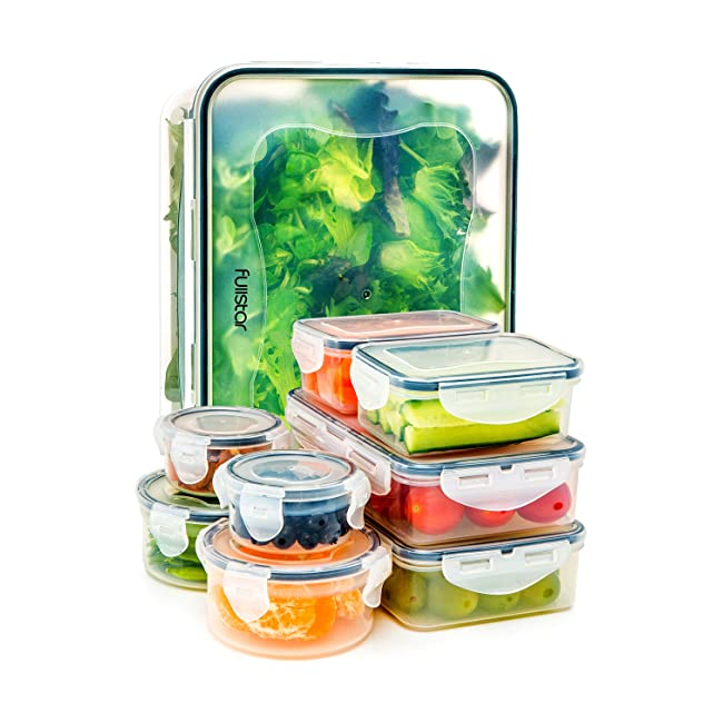 Food Storage Containers with Lids - Airtight L...