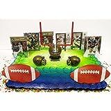 NEW ORLEANS Team Themed Football Birthday Cake Topper