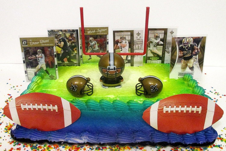 Enjoyable Amazon Com New Orleans Team Themed Football Birthday Cake Topper Birthday Cards Printable Giouspongecafe Filternl