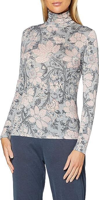 womensecret Camiseta Estampada Cuello Alto: Amazon.es: Ropa ...