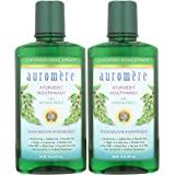 Auromere Ayurvedic Mouthwash - Vegan, Fluoride Free, Alcohol Free, Natural, Non GMO (16 fl oz), 2 Pack