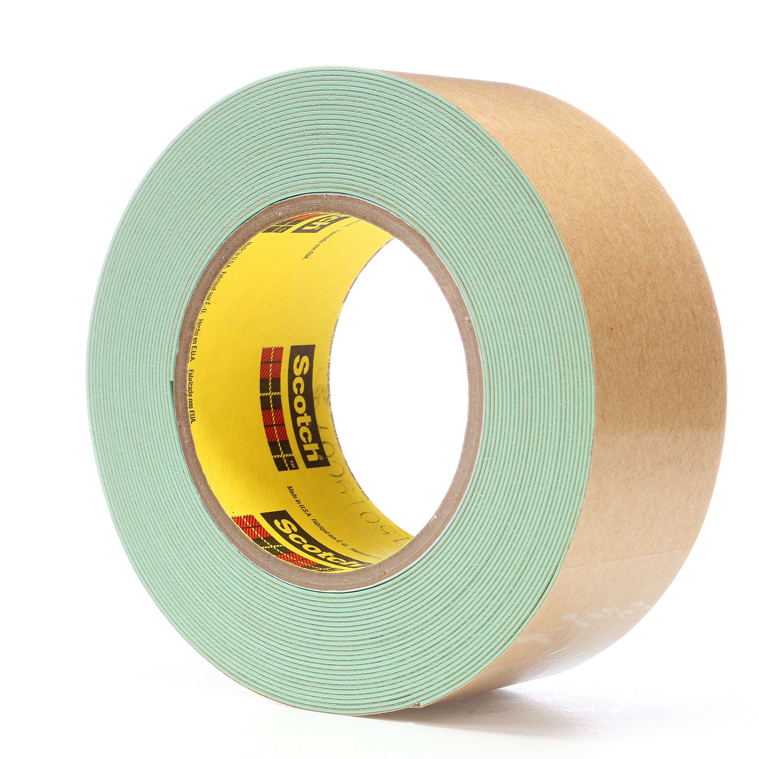 3M Impact Stripping Tape 500, 2'' x 10 yd 33 mil, Green (Pack of 6) by 3M (Image #2)