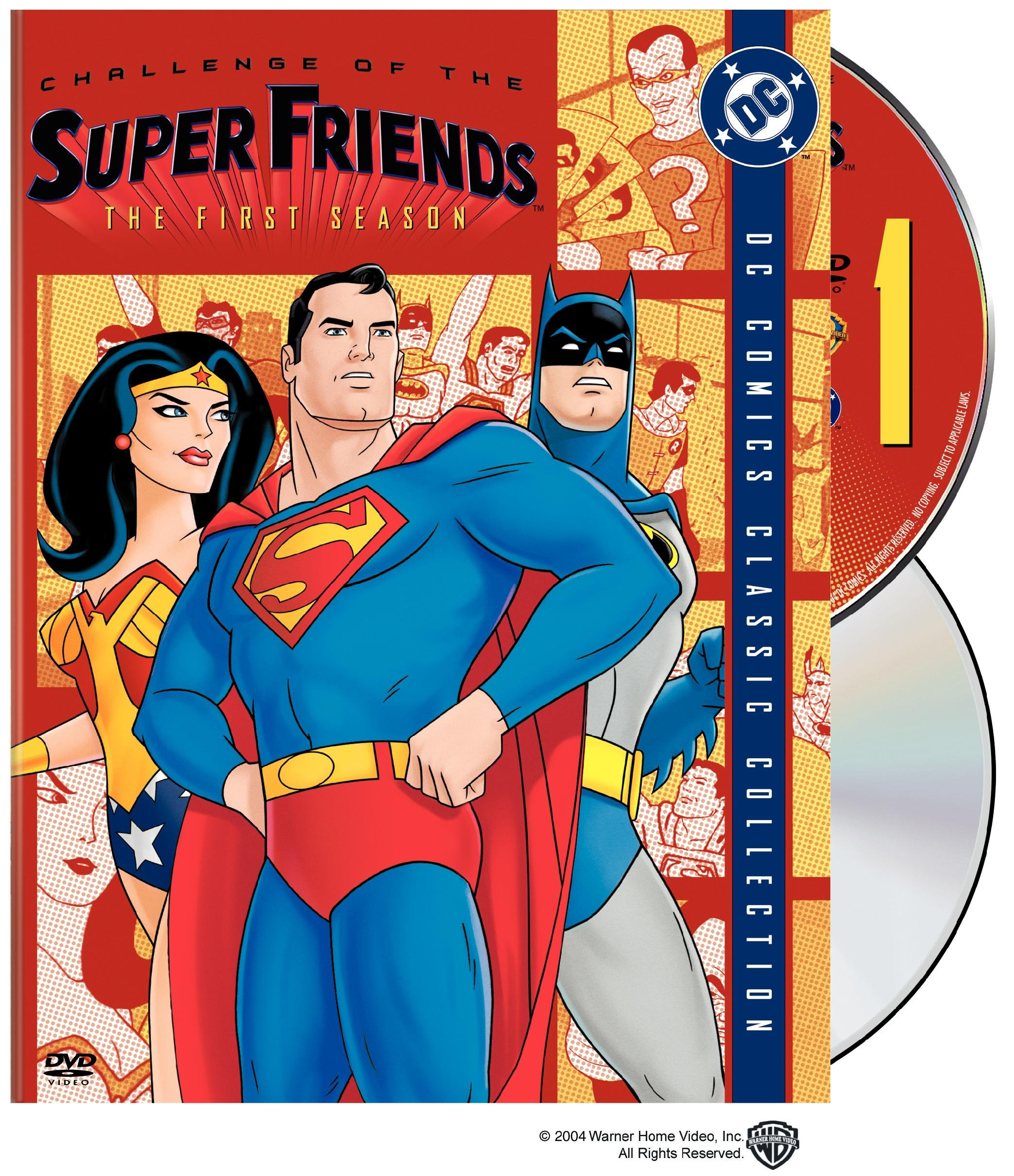 DVD : Challenge of the SuperFriends: The First Season (Dubbed, Digipack Packaging, , Standard Screen, 2 Disc)