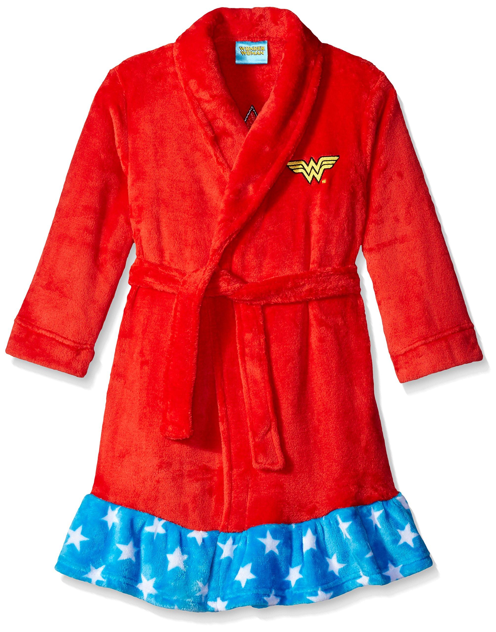 DC Comics girls Wonder Woman Velvet Fleece Robe