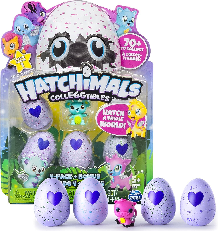 BONUS SEASON 1 HATCHING EGG 1x Hatchimals CollEGGTibles Collectibles 4 Pack