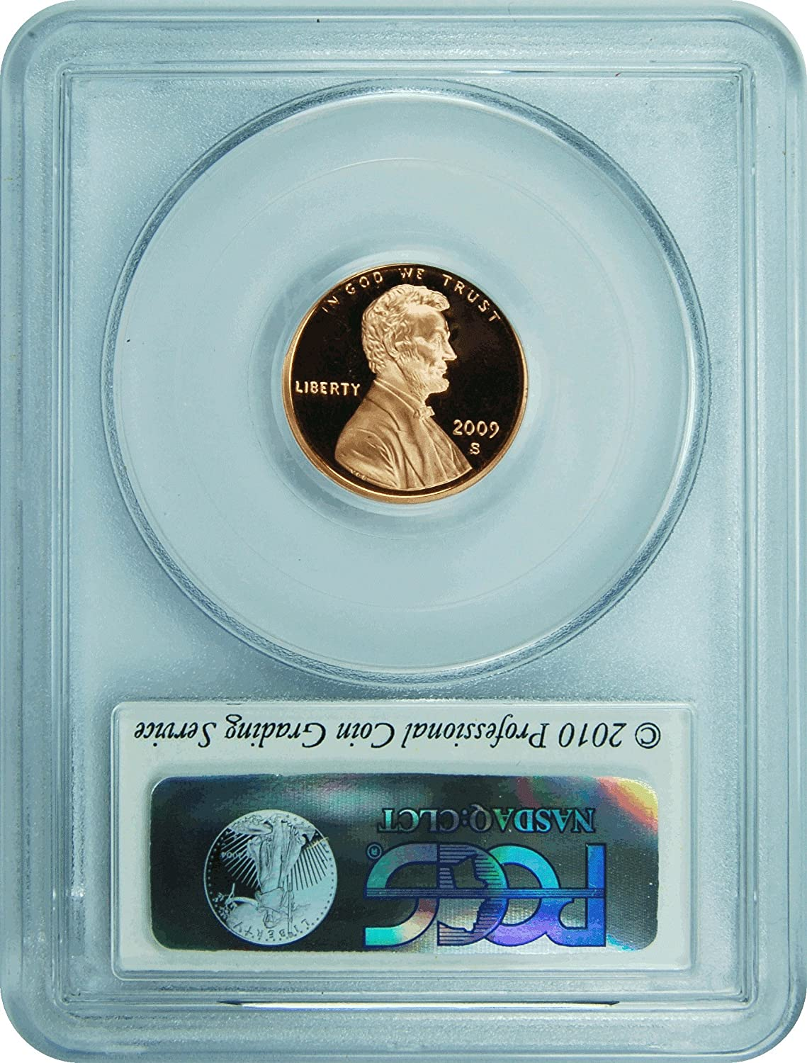 2009-S Lincoln Cent PR69RD DCAM PCGS Early Childhood Proof 69 Red Deep Cameo