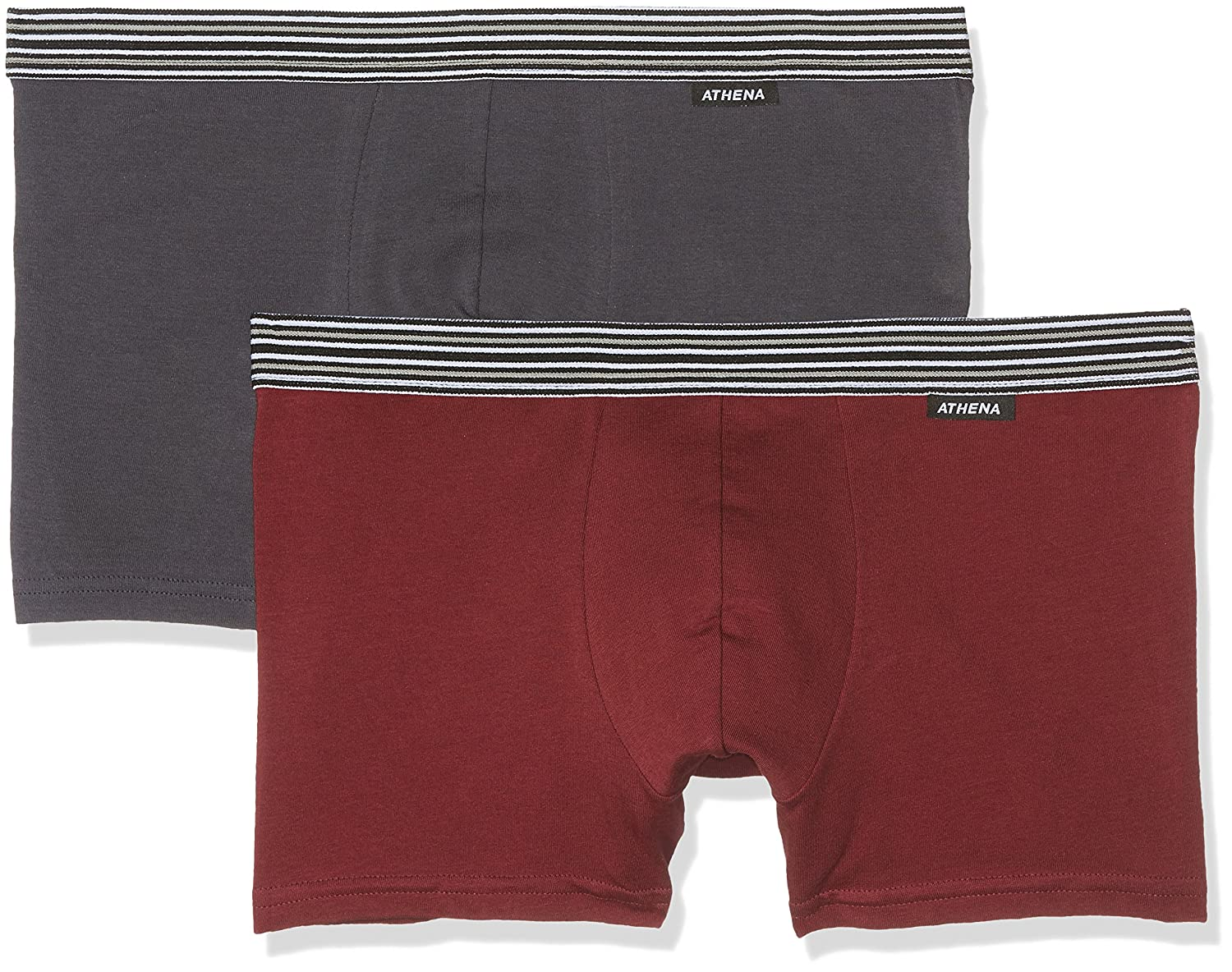 Cheap Price Outlet Cheap 100% Authentic Mens Duo Choc Boy Short Pack of 2 Athéna cqSAe