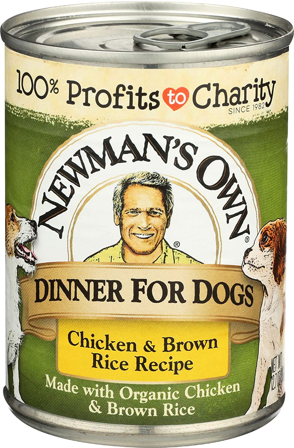 Newman's Own Formula for Dogs Chicken and Brown Rice - 12.7 oz