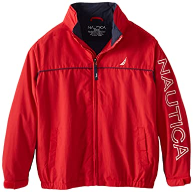 Amazon.com: Nautica Boys' Anchor Jacket: Outerwear Jackets: Clothing