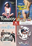 4 Drive-In Features: TOMBOY (1985), MY CHAUFFEUR (1986), WEEKEND PASS (1984) and MALIBU BEACH (1978) (DVD) - Starring Phil Hartman, Deborah Foreman, Betsy Russell, Howard Hessmen (2011 - DVD)