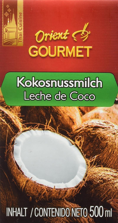 Orient Gourmet Leche de Coco Contenido de Grasa 17-19% - 12 ...