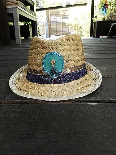 Sombrero de playa hippie-chic 7bf57464c75