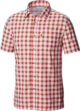 Columbia Super Slack Tide Camp Shirt Camisetas con Cuello Abotonado para Hombre