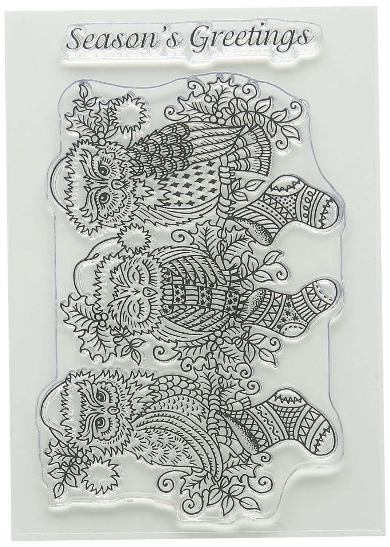 Sweet Dixie /&Laquo;/Dragonfly with Love//» Ensemble de tampons Transparents Transparent 15 x 10.5 x 0.3 cm A6