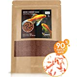 VPoint Brine Shrimp Eggs – Artemia Cysts of 90% Hatch Rate – Aquatic Foods Baby & Fry Foods - Great Live Fish Food for Freshw