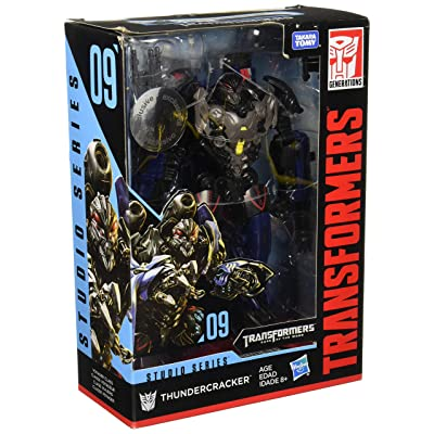 Transformers Studio Series 09 Voyager Class Movie 2 Thundercracker: Toys & Games