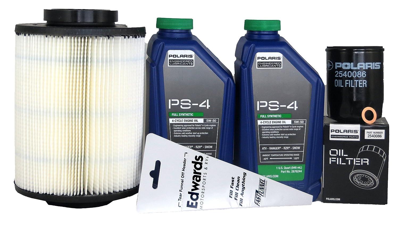 2011-2015 Ranger 6X6 800 Genuine Polaris Oil Change and Air Filter Kit