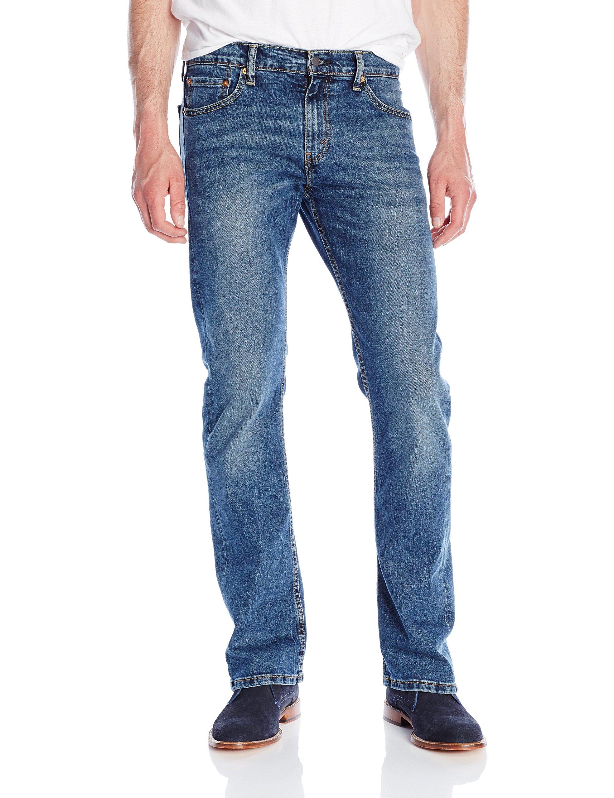 Levi's Men's 527 Slim Bootcut Jean, Black Stone, 34W x 30L