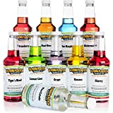 Hawaiian Shaved Ice Syrup , Pints 16 Fl Oz (Pack of 10)