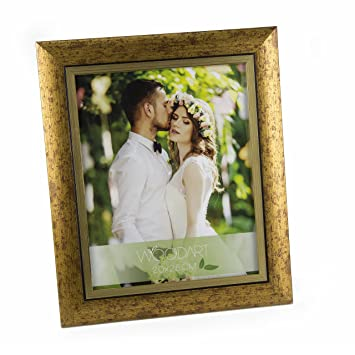 Amazoncom Woodart Crafted Wooden Picture Frame 8x10 Antique