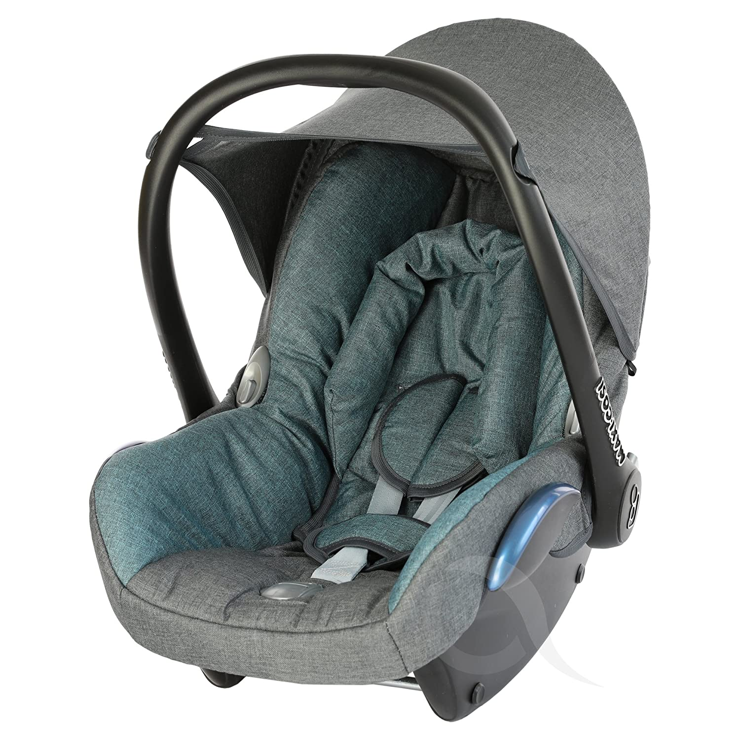Infant Carrier FULL SET charcoal// grey Replacement Seat Cover fits Maxi-Cosi CabrioFix Group 0