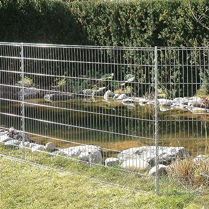 Bellissa Teichschutz Zaun Set 92883 Funktionaler Zaun Fur Abgrenzungen Im Garten Oder Als Kleintiergehege Schutzzaun Fur Teiche Und Tiere 710