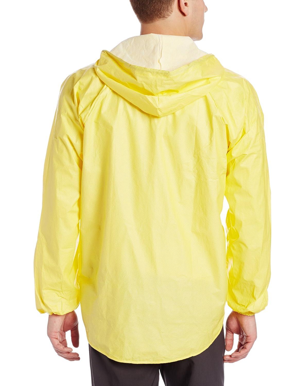AERO TECH DESIGNS Rainshield Hooded Cycling Rain Jacket Yellow