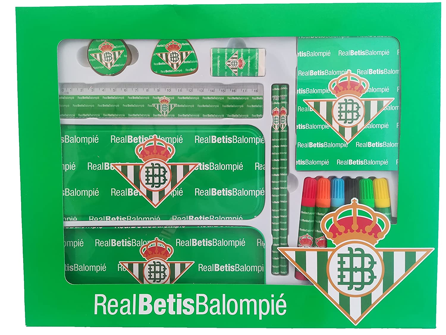LCQI Set Material Escolar Real Betis Balompié Producto Oficial ...