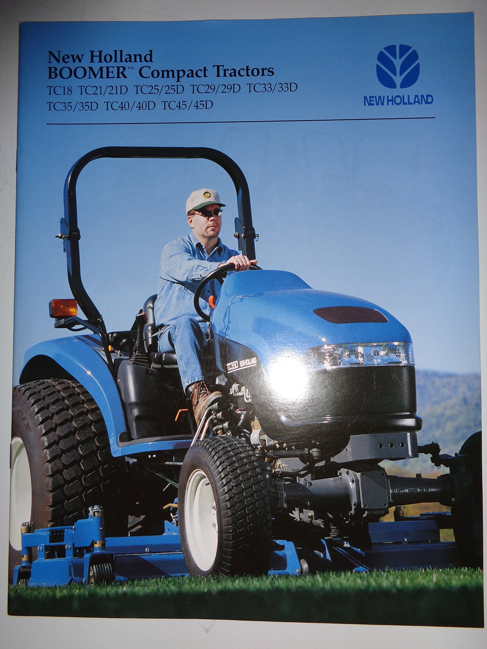Tc40 New Holland Specifications Tc35 Wiring Diagram Boomer Tractor Sales Brochure Books 1920x2560