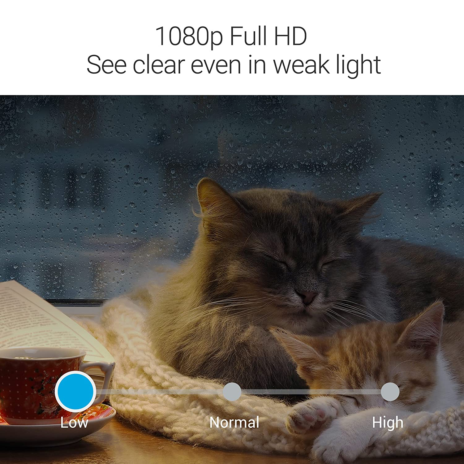 Zmodo Sight 180 Home Security Camera Two Way Audio Night Vision Works with Alexa Motion Detection Full HD 1080p Wireless Indoor IP Camera System with 180 Degree Viewing Angle