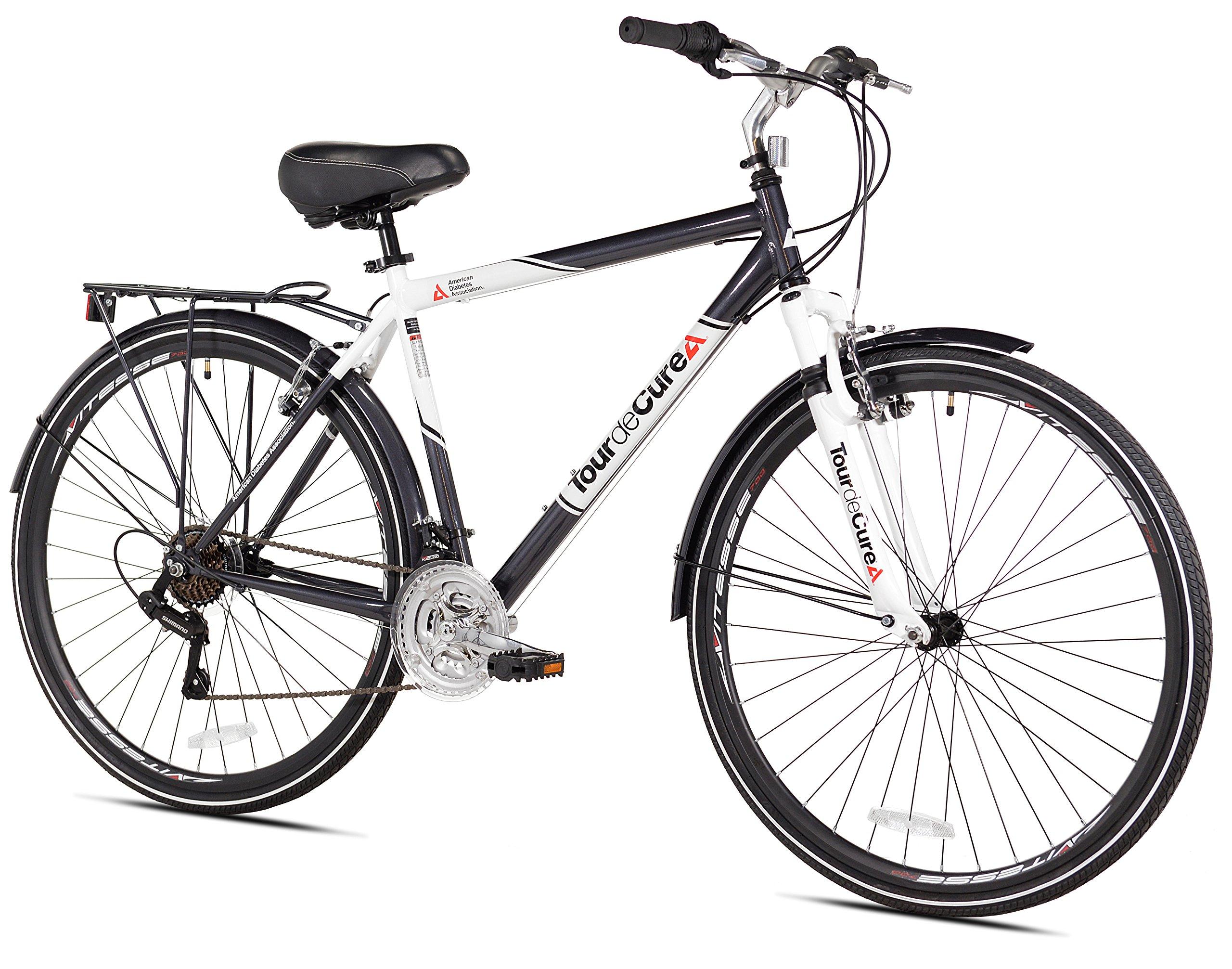 Tour de Cure Men's Hybrid Bike, 700c by Tour de Cure (Image #1)