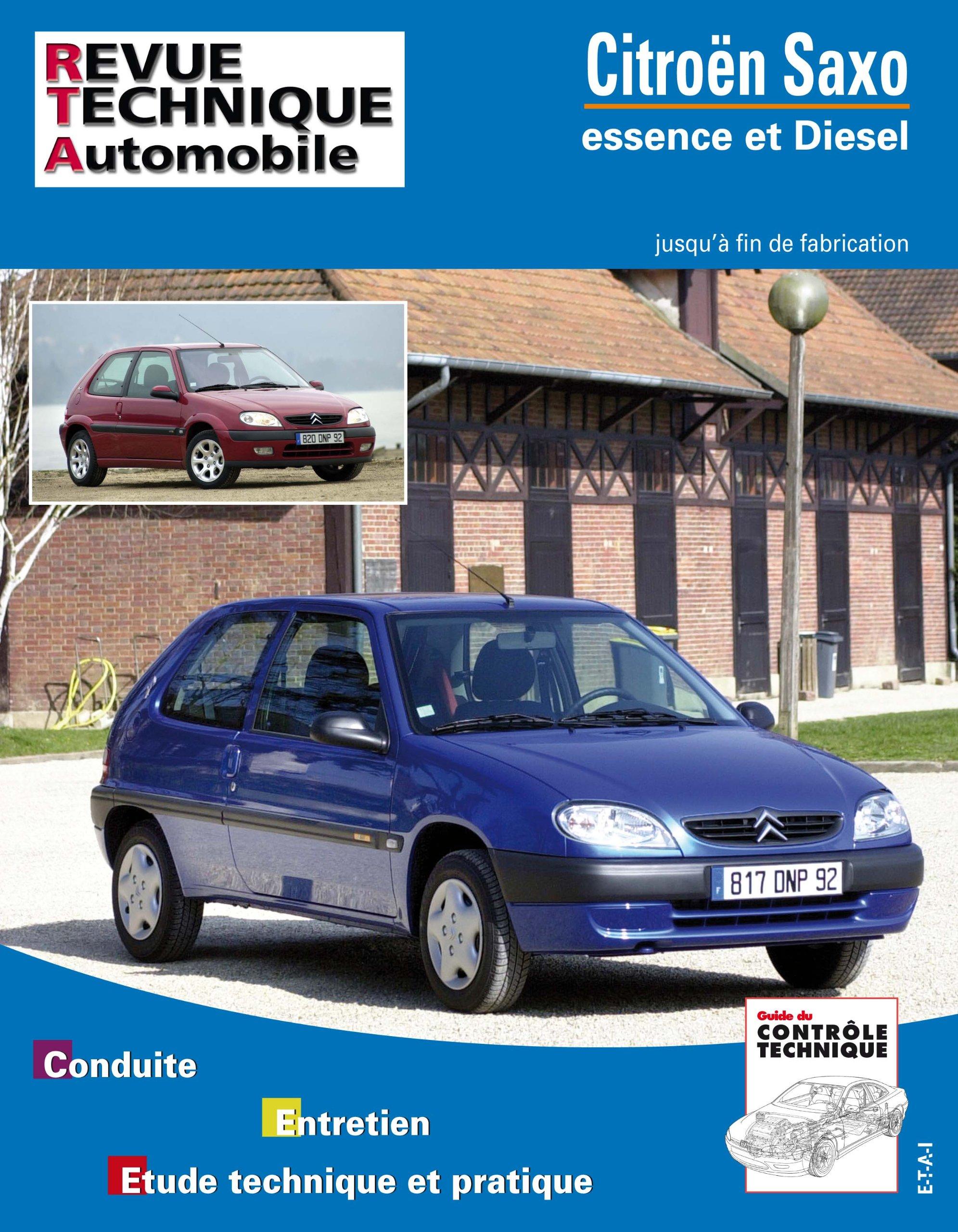 Rta 106.1 Citroën saxo essence et diesel (96->f.fab): Amazon.es: Etai: Libros en idiomas extranjeros